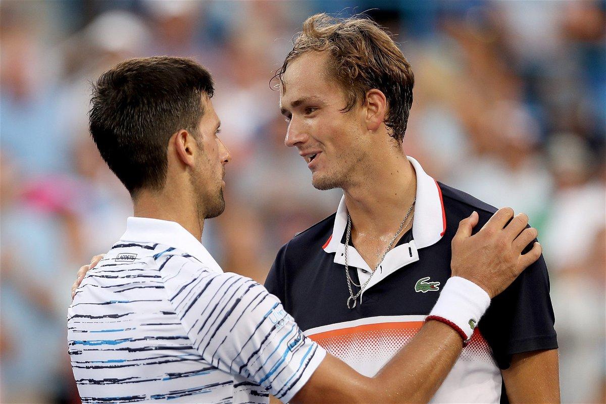 Novak Djokovic vs Daniil Medvedev Australian Open 2021 ...