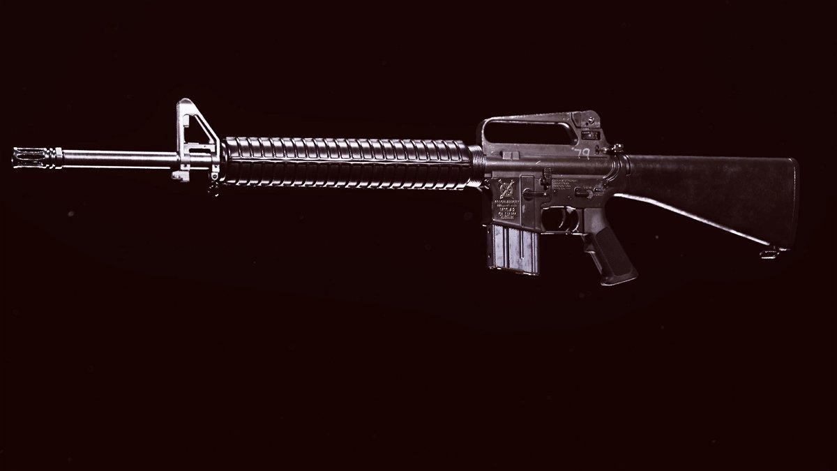 The M16 Burst Rifle