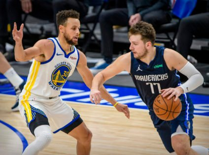 Mavericks Owner Mark Cuban Launches an Indirect Challenge for Luka Doncic Against Steph Curry