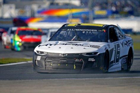 After Michigan Win, AJ Allmendinger Bags Pole Position at the Daytona International Speedway
