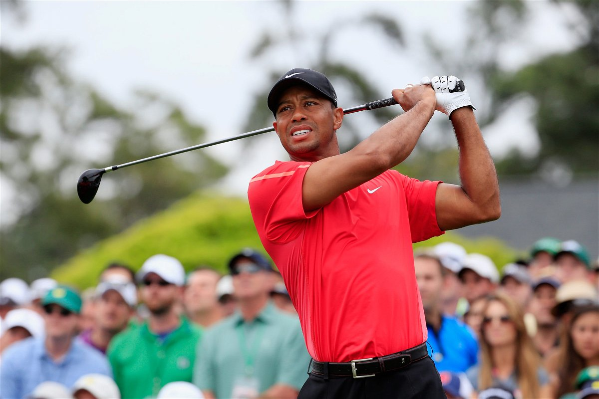 Golf: Tiger Woods at the Augusta Masters