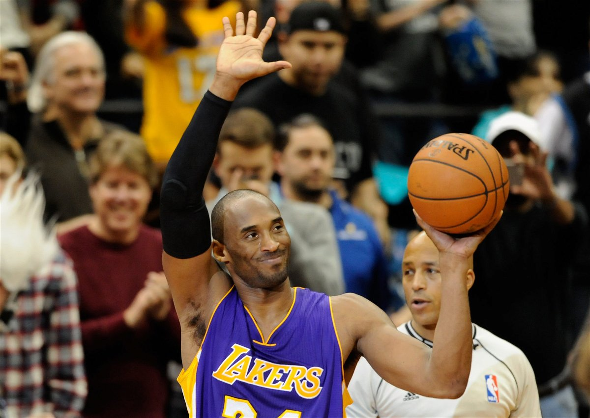 Lakers legend Kobe Bryant