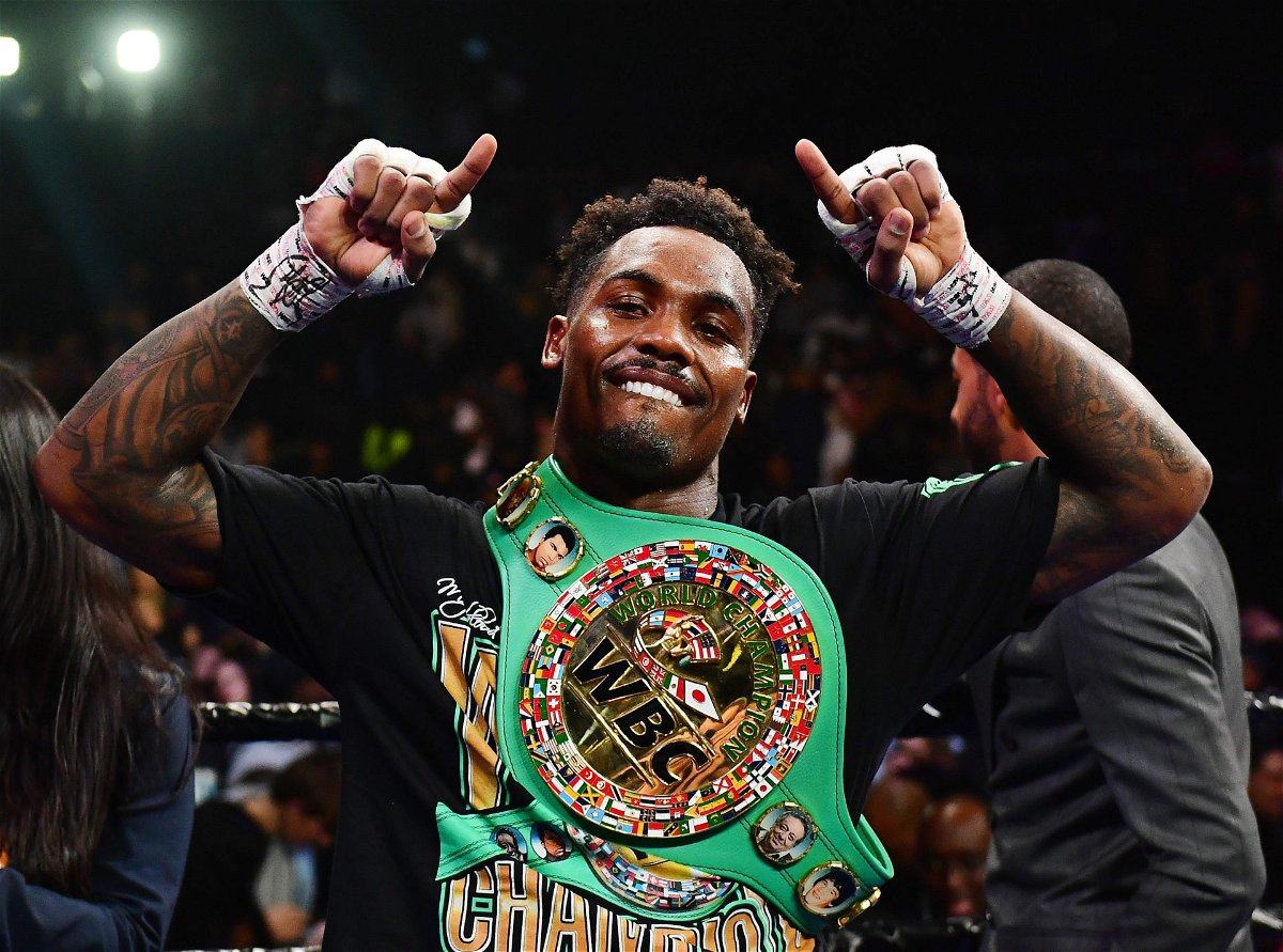 Jermall Charlo in the boxing ring