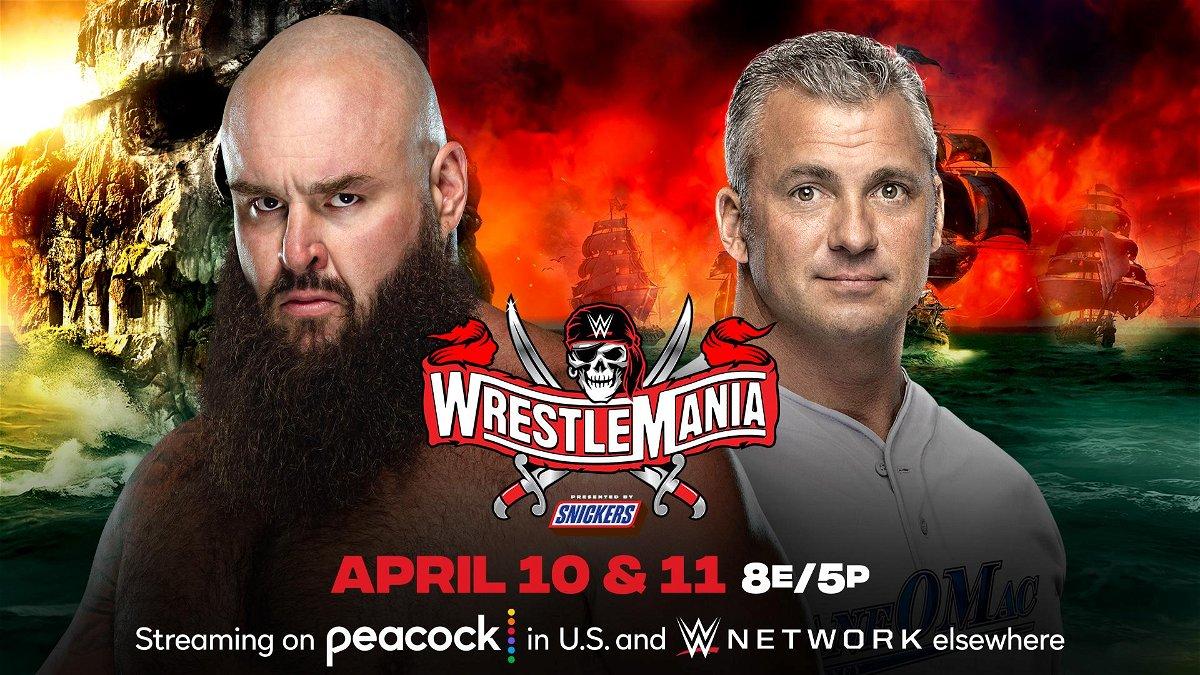 Braun Strowman To Finally Get His Hands On Shane Mcmahon At Wrestlemania 37 Essentiallysports