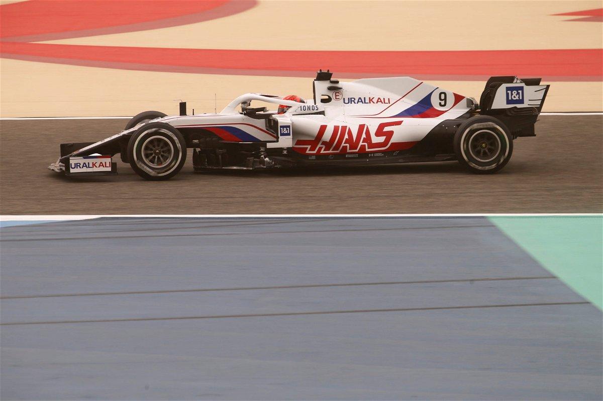 Haas F1 driver Nikita Mazepin