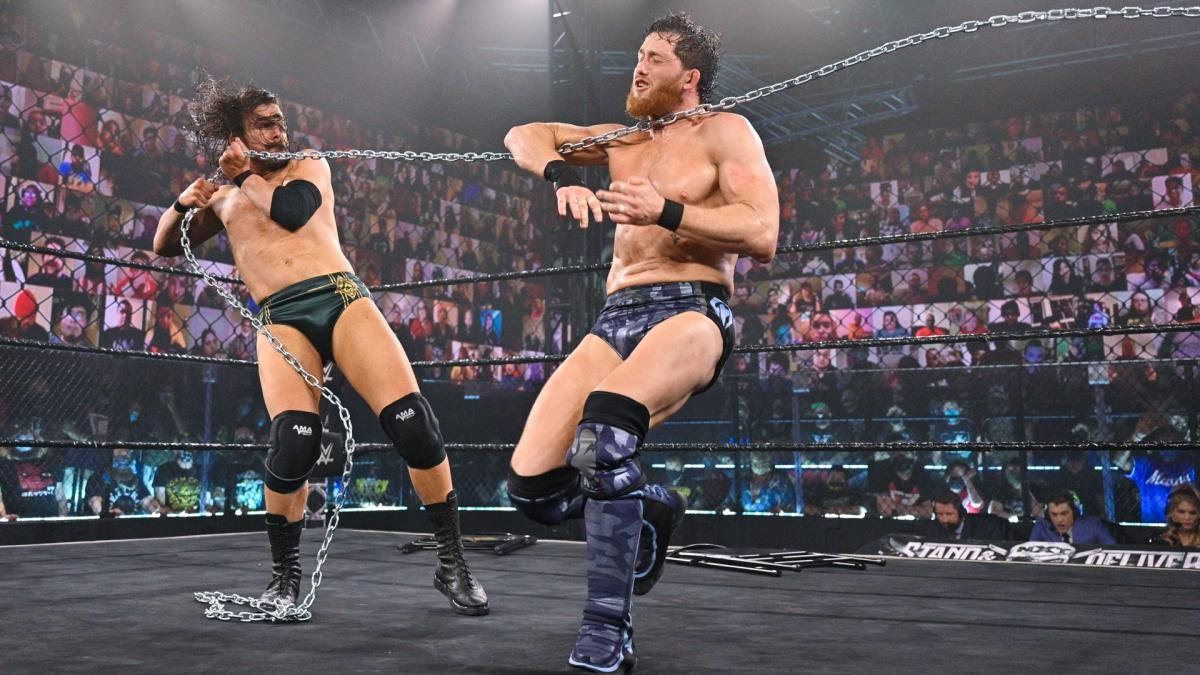 The Most Brutal Spots from Adam Cole and Kyle O'Reilly's Insane Unsanctioned Match at NXT Takeover - EssentiallySports