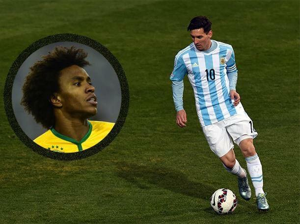 Messi wants Willian at Barcelona