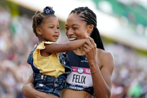 Here's What Allyson Felix Wants Her Daughter To Learn From Her Journey To Tokyo Olympics 2020