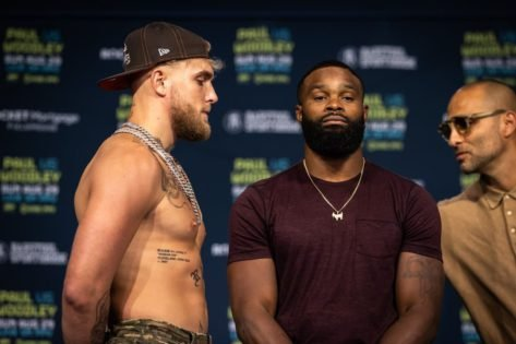 'Getting a UFC Championship Does Not Mean S**t in the World of Boxing'- Jake Paul Berates Tyron Woodley's Accomplishments