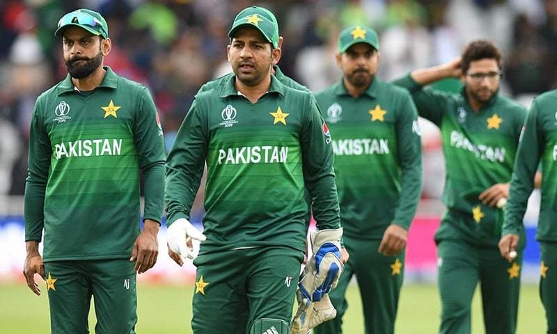 players of the Pakistan Cricket Team