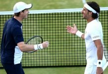 Andy Murray and Feliciano Lopez