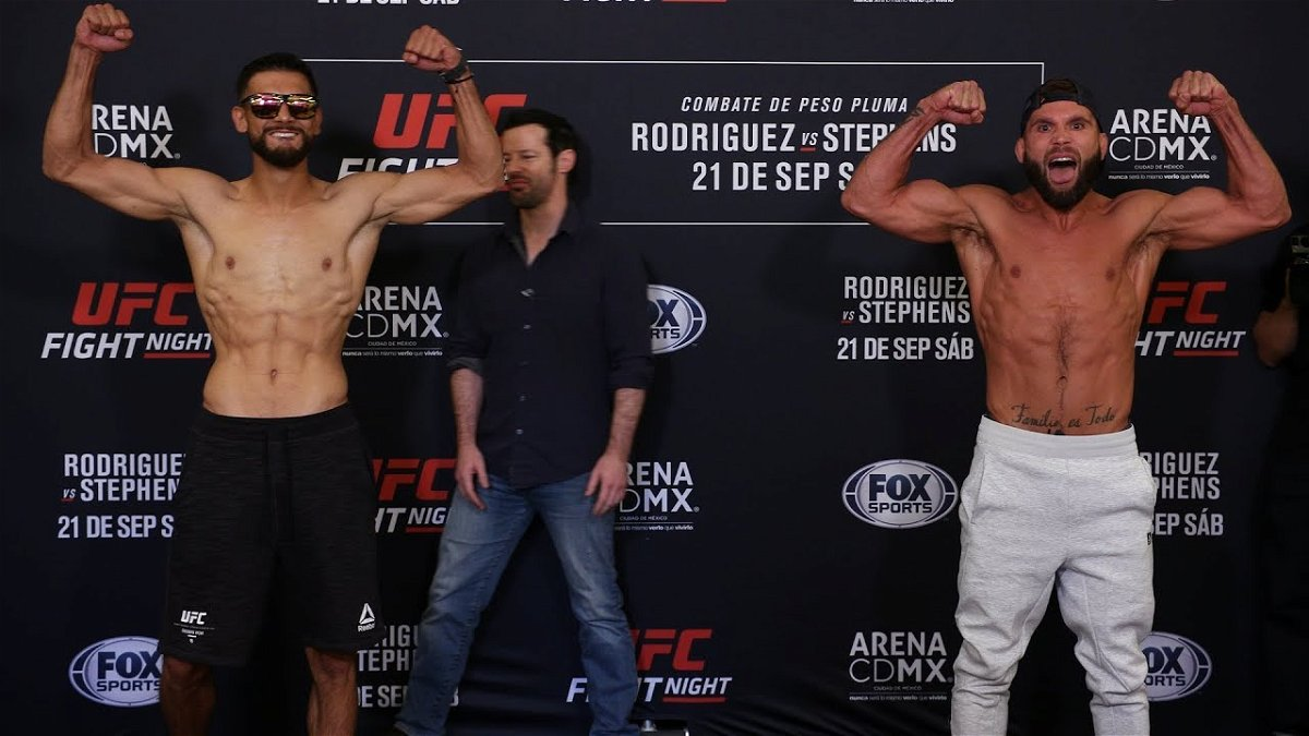 Ufc Mexico Main Event Ends With Anti Climax As Fight