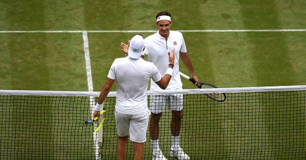 Roger Federer Gives Advice To Matteo Berrettini