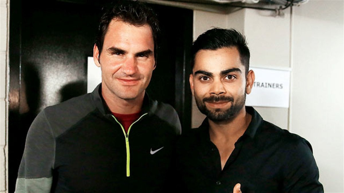 In , Roger Federer and Virat Kohli