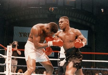 WATCH: Mike Tyson Defends His Unified Heavyweight Title for the Fourth Time With a Vicious TKO