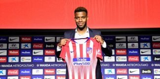 Lemar signs for Atletico Madrid.
