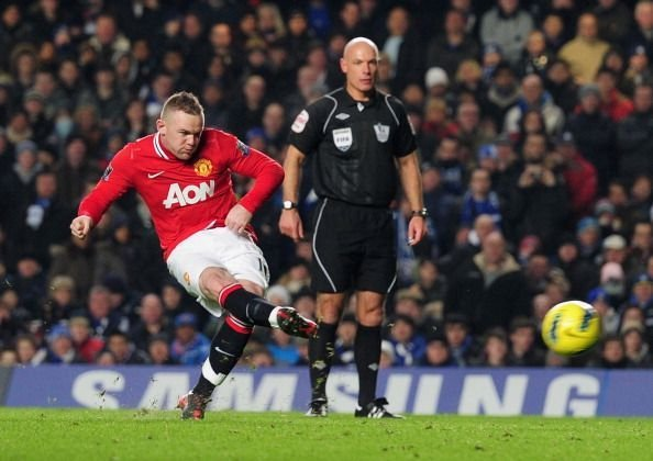Wayne Rooney made the difference in the game.