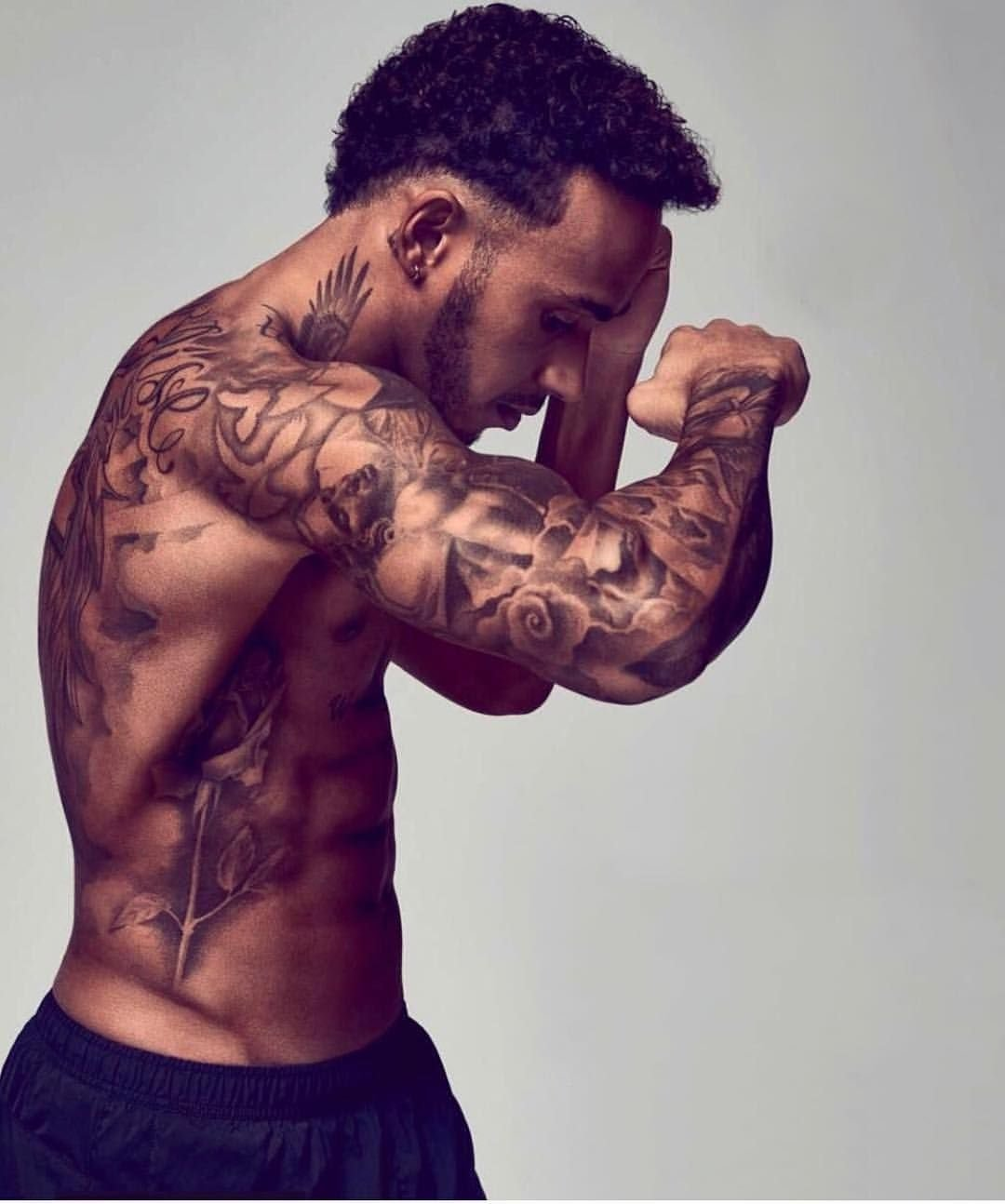 What Is The Significance Of The Various Lewis Hamilton Tattoos Essentiallysports