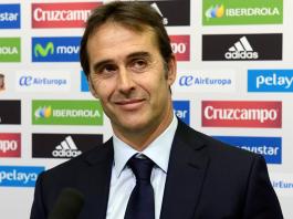 Julen Lopetegui named as new Real Madrid coach.