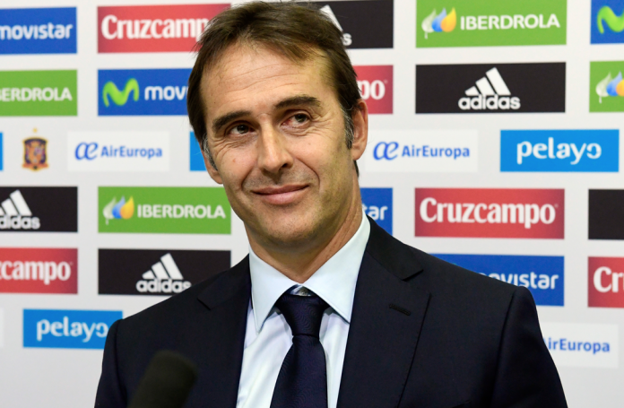 Julen Lopetegui named as new Real Madrid coach.