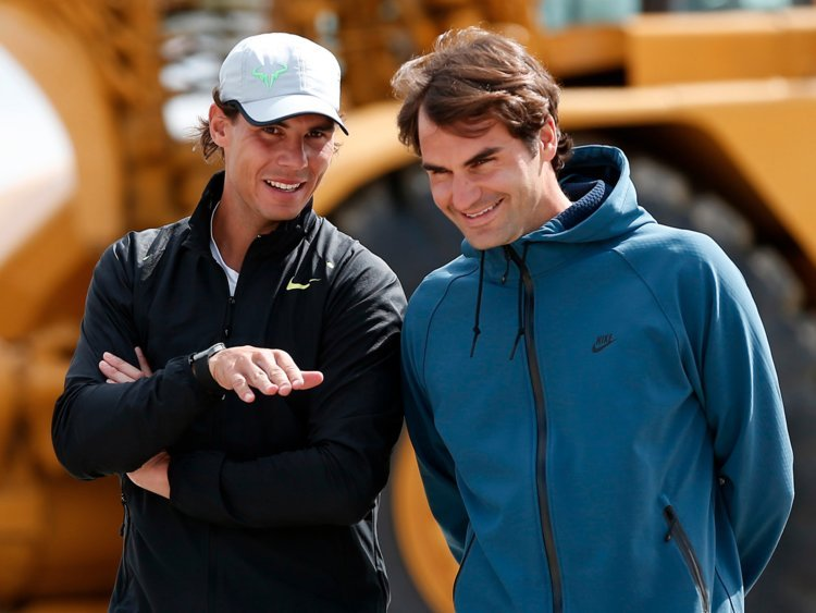 Roger Federer When I Will Look Back At My Career I Will Think A Lot About Rafa Essentiallysports
