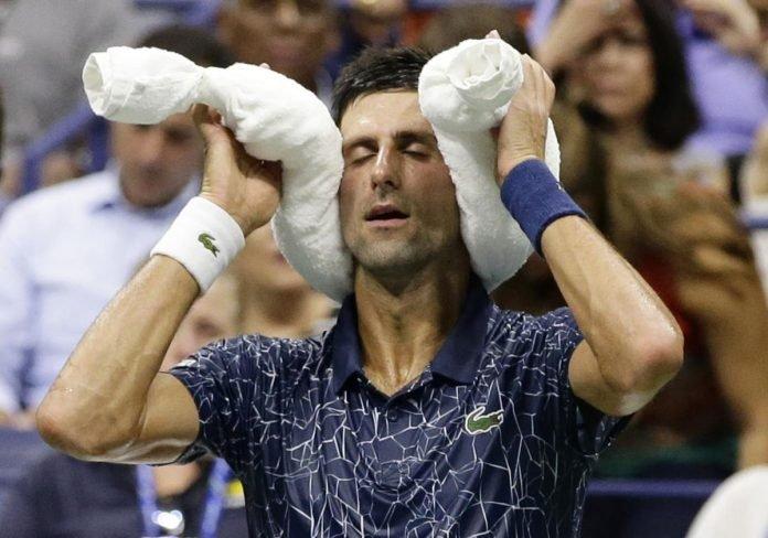 Djokovic at Flushing Meadows