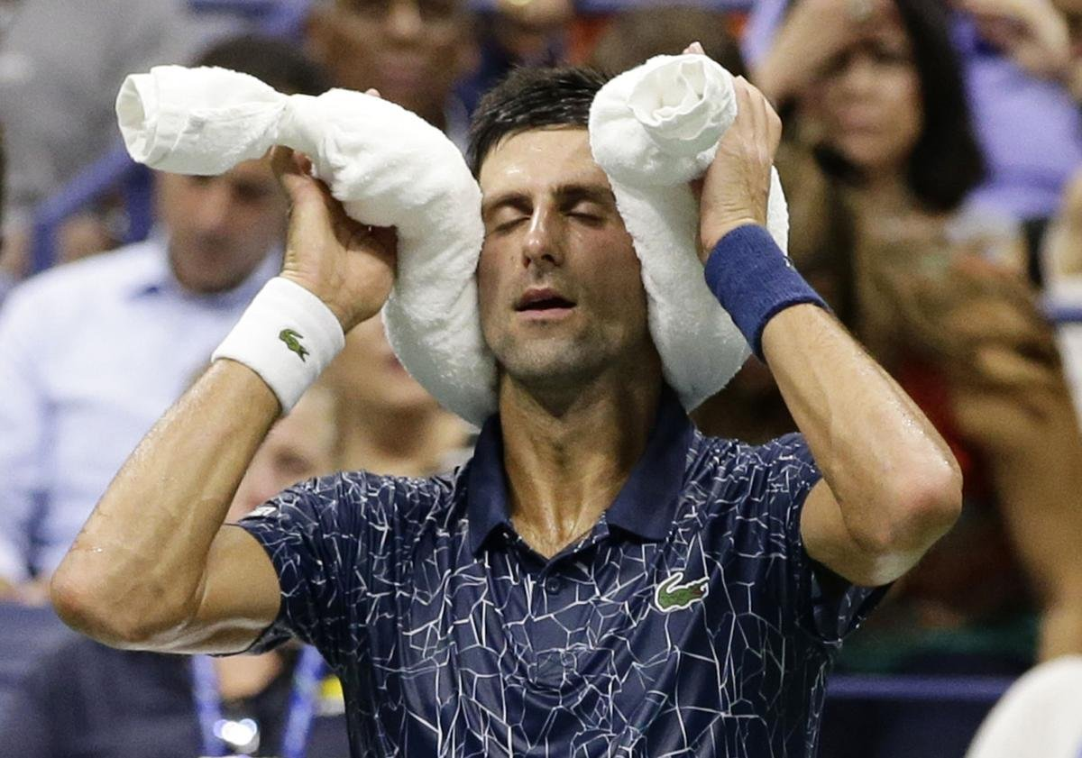 Djokovic at Flushing Meadows
