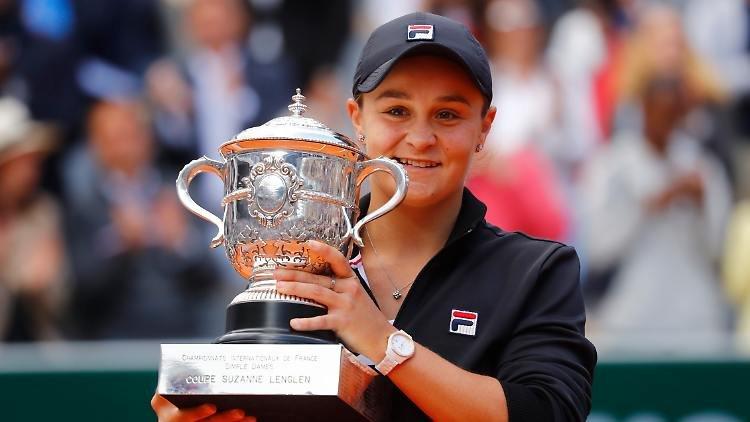 Ashleigh Barty WTA Finals 2019