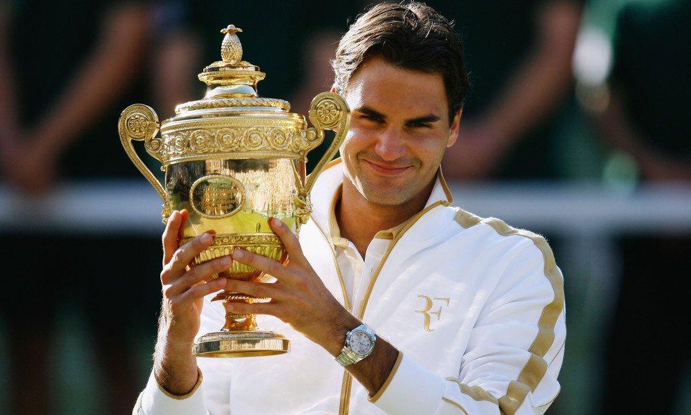 Most Number Of Wimbledon Titles: Gentlemen's Singles Champion, Roger Federer