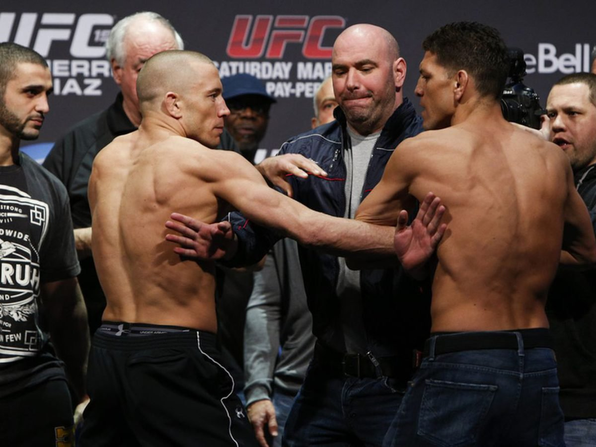 Nick Diaz Responds To Georges St Pierre And Offers To Fight Him Essentiallysports