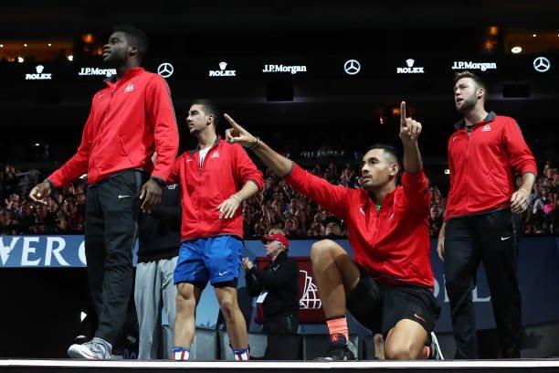 Nick Kyrgios Laver Cup 2019