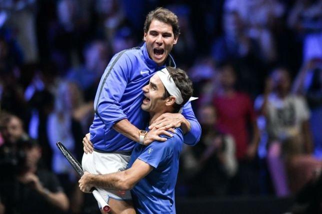 Roger Federer Makes Funs Of Rafael Nadal I Will Break His Back Essentiallysports