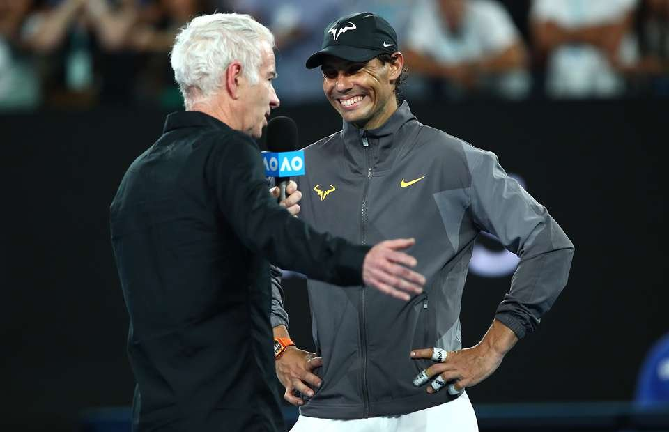 Nadal cruises into the last four of the Australian Open 2019