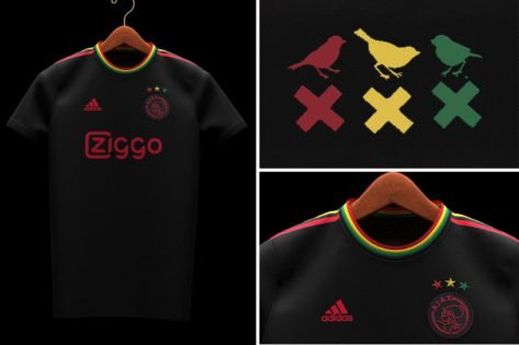 Ajax Pay Tribute to Reggae Icon Bob Marley in New Kit Release