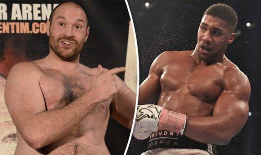 Tyson Fury Accuses Anthony Joshua of Fighting Weak Competition