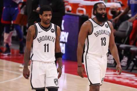 Major James Harden News That Might Signal The End For Kyrie Irving