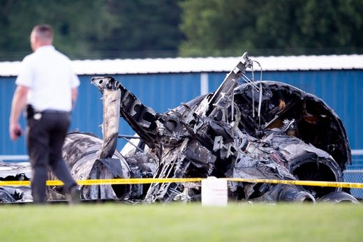 Dale Earnhardt Jr's Plane crash at the Elizabethton airport
