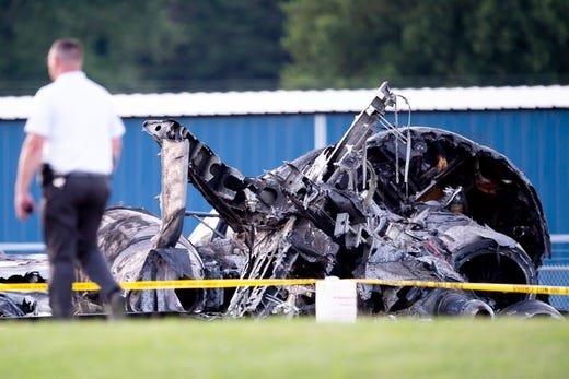 Dale Earnhardt Jr's Plane crash at the Elizabethton airport