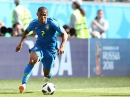 Douglas Costa Will Miss The Next World Cup Game For Brazil