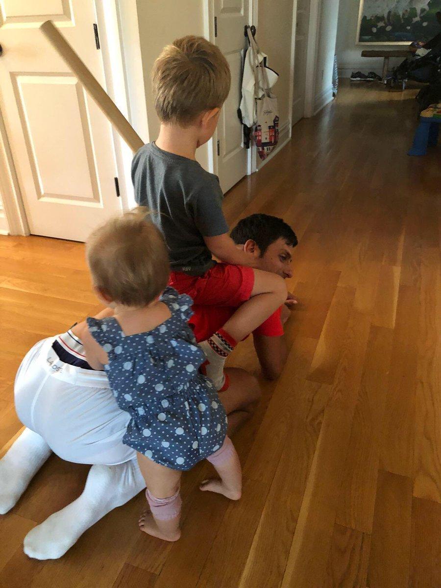 I Don T Know How Roger Federer Does It With Four Children Novak Djokovic Essentiallysports