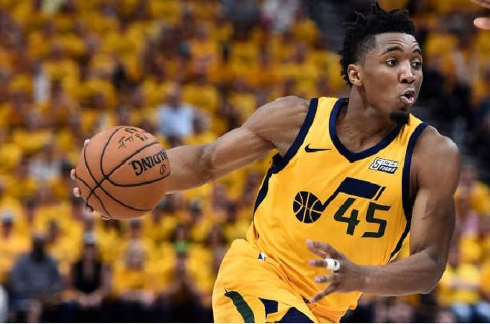 Donovan Mitchell of Utah Jazz