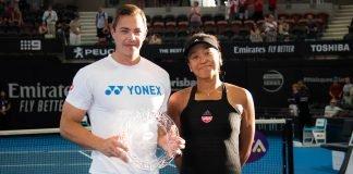Sascha Bajin and Naomi Osaka