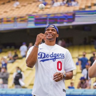 Russell Westbrook to Kobe Bryant: Here's How Many Lakers Stars Have Thrown the First Pitch at a Dodgers Game