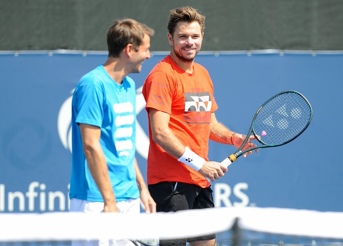 Stan Wawrinka Ends His Coaching League With Yannick Fattebert