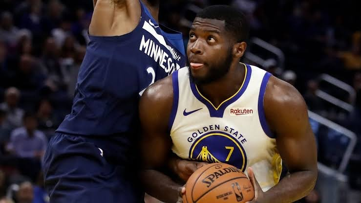 Eric Paschall playing for Golden State Warriors