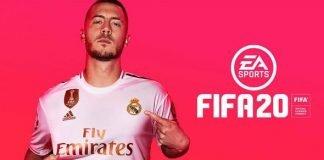 Eden Hazard on the FIFA 20 cover
