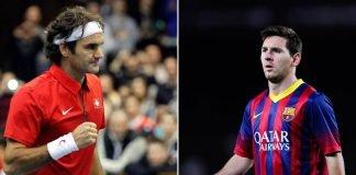 Roger Federer and Lionel Messi