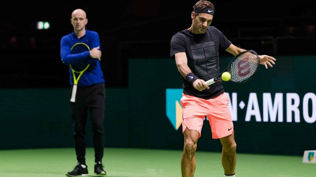 John Millman on track for rematch with Roger Federer at Swiss Indoors