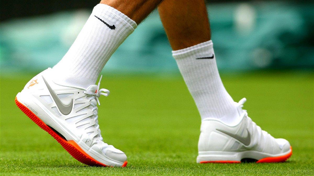 Roger Federer Prefers Nike Shoes Over