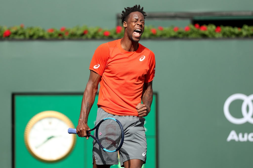 Thiem into Indian Wells semis as injured Monfils withdraws